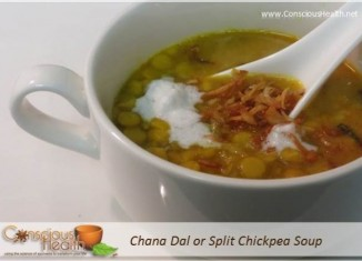 Chana Dal or Spilt Chickpea Soup