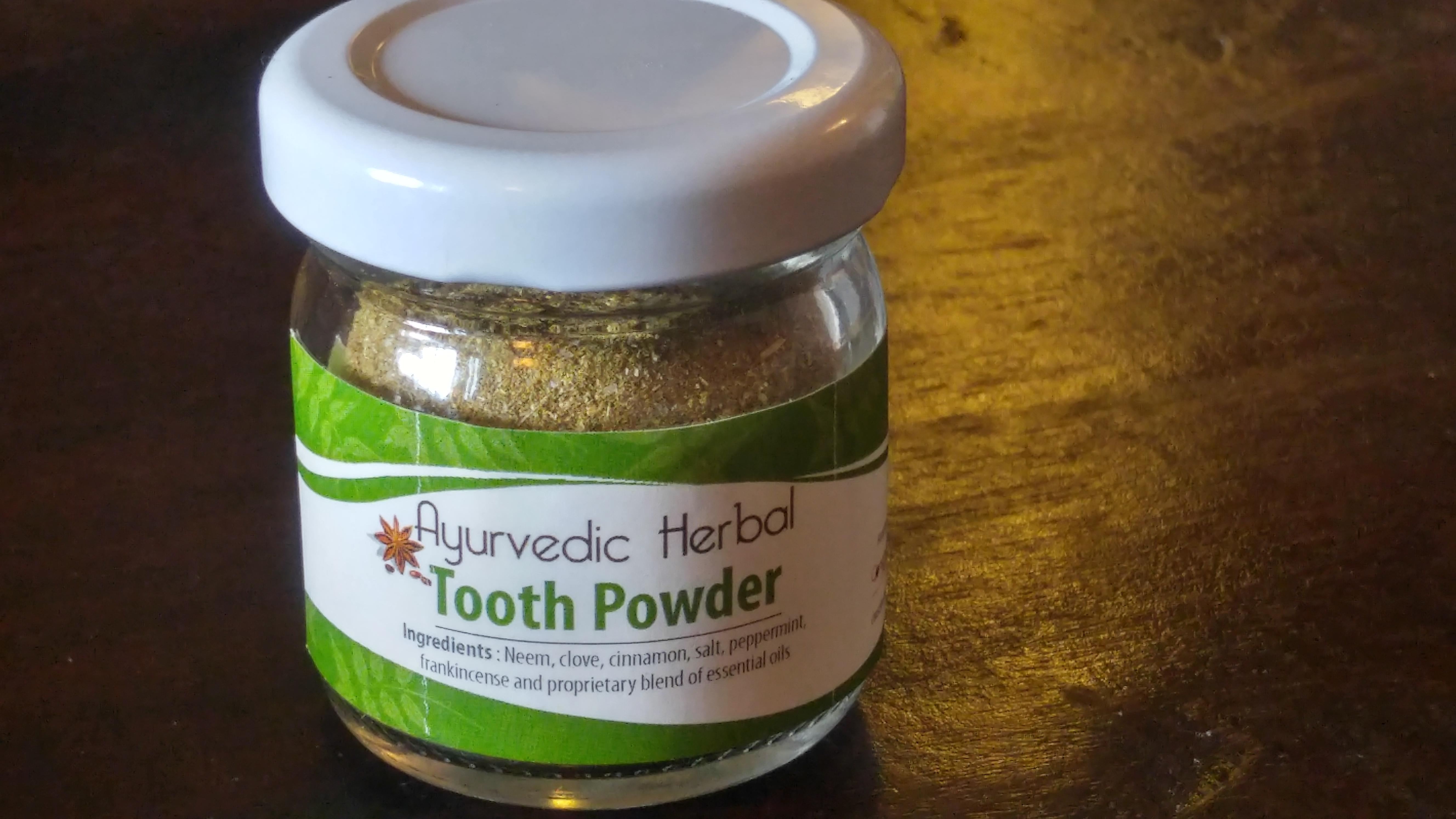 Ayurvedic Herbal Tooth Powder